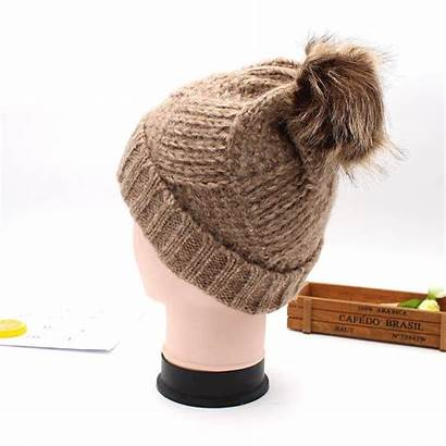 Beanie Winter Caps Wool Crochet Hat Ski