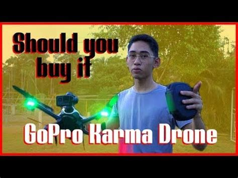 gopro karma drone   buy  hands  kc gardner philippines youtube