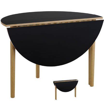 table console demi lune extensible