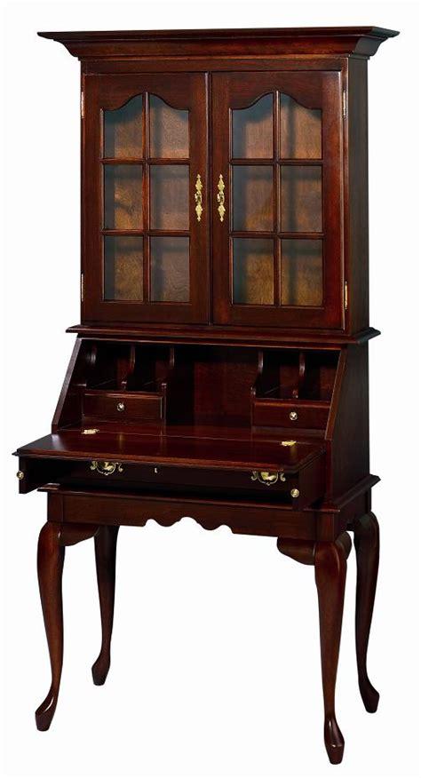 queen anne desk with hutch antique queen anne bureau bookcase