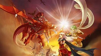 Emblem Fire Radiant Dragon Dawn Dragons Wallpapers