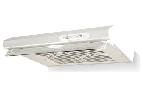 hotte aspirante encastrable cuisine hotte visière proline shp60wh 4137167 darty