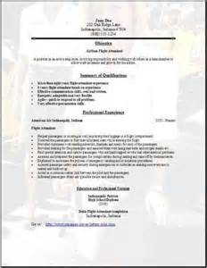 resume for airlines airlines resume occupational exles sles free edit with word