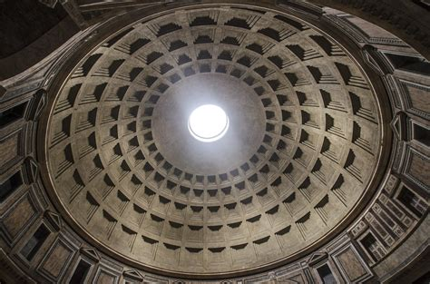 Cupola Romana by Roma Pantheon Cupola Diametro Di M 43 3 Rome