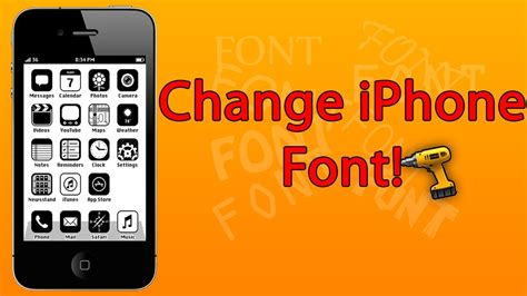 change the font on iphone ios 7 2014 how to change font on iphone mini