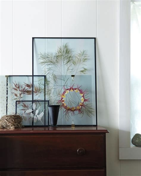 how to make botanical prints a modern way to display pressed flowers