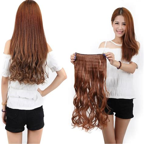 Blonde Auburn 17 140g Long Curly New Brand 34 Full Head