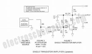 Single Transistor Amplifier Revisited