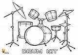Drum Drums Coloring Printables Pages Easy Pounding Kit Yescoloring Instrument Musical Results sketch template