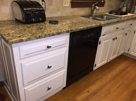 painting kitchen cabinets before and after pictures