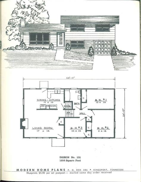 spectacular 1950s house plans 17 best images about house plans on house