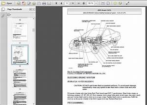 2001-2003 Acura Cl Service Repair Manual