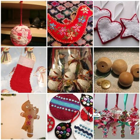 dabbled bunches of christmas ornaments many with tutorials