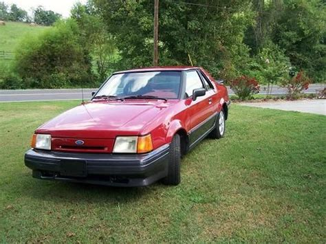 electric and cars manual 1989 ford escort transmission control purchase used 1988 ford exp electric car in rogersville tennessee united states for us 5 000 00