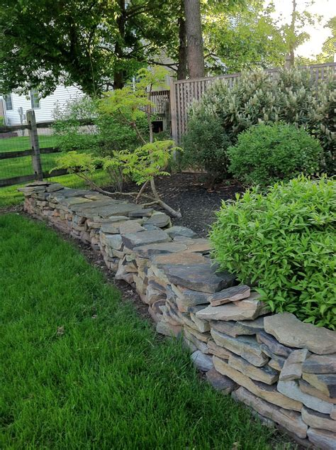 Garten Ideen Trockenmauer by Rock Wall Garten Trockenmauer Garten Ideen Und
