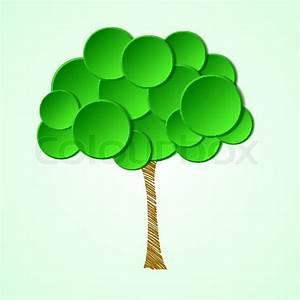 Kleiner Baum Mit Breiter Krone : baum mit einer krone und einem papier gemalt stammzellen ~ Michelbontemps.com Haus und Dekorationen