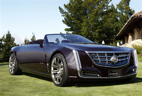 Cadillac Car : New Cadillac Ciel 4-door Convertible Concept Wows Pebble