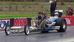 Dave Armstrong Blown V8 Nitro Front End Dragster Runs 6 69