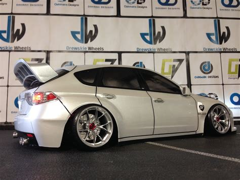 subaru custom cars tamiya 190mm subaru impreza wrx sti 1 10 scale r c drift