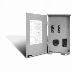 Prise 20 Ampere : ge 30 amp temporary rv power outlet u013p the home depot ~ Premium-room.com Idées de Décoration