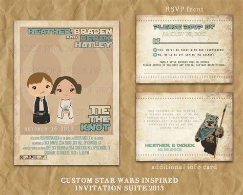 wars wedding invitations wars inspired wedding or party invitation