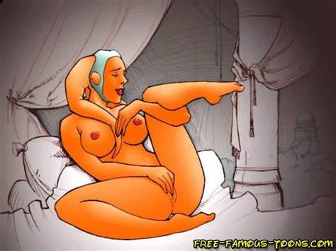 Exclusive Cartoon Sex With Star Wars Famous Heroes