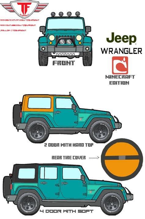 minecraft jeep wrangler 2013 jeep wrangler minecraft edition by tfburnout on