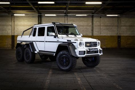 Mercedes G63 Amg 6x6 by Mercedes G63 Amg 6x6 Tuned To 650 Ps By Carlsson