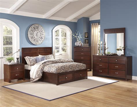 classic kensington  pc panel storage bedroom set