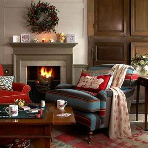 33, Best, Christmas, Country, Living, Room, Decorating, Ideas