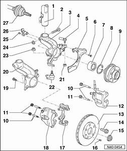 Audi Workshop Manuals  U0026gt  A3 Mk1  U0026gt  Running Gear  Front
