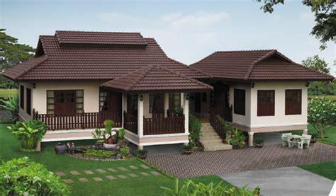 contemporary one house plans แบบบ านยกส ง ด ไซน ร วมสม ย สดใสด วยสวนหย อมรอบด าน