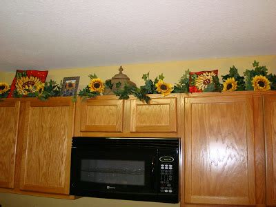 29 Awesome Images Sunflower Decals For Kitchen Cabinets