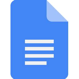 Google docs Logo Icon of Flat style - Available in SVG ...