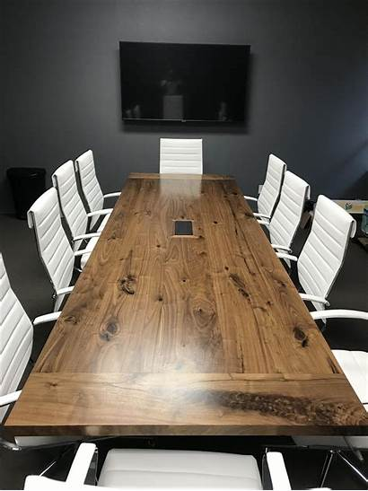 Table Conference Walnut Ft Furniture Custommade Tables
