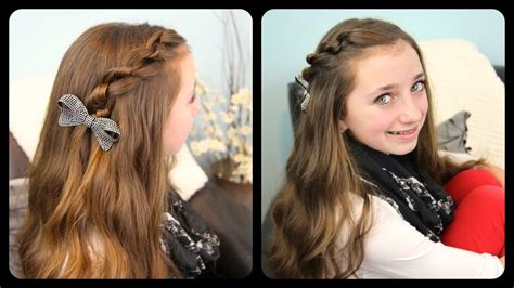 youtube cute girls hairstyles the knotted pullback cute girls hairstyles youtube