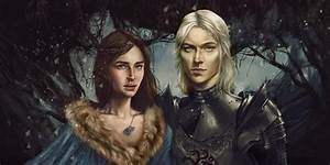 Rhaegar Targaryen and Lyanna Stark by Silvaticus on DeviantArt