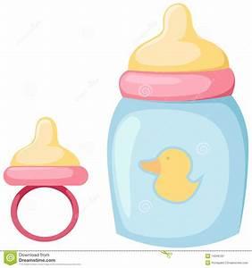 Baby Bottle Cute Digital Clipart Baby Bottle Clip art