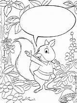 Squirrel Coloring Eekhoorn Kleurplaten Squirrels Animated Animal Gifs Kleurplaat Coloringpages1001 sketch template