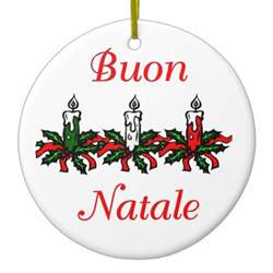 buon natale italian christmas ornaments buon natale italian christmas ornament designs zazzle