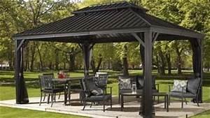 Gartenlauben u0026 pavillons online kaufen for Französischer balkon mit garten pavillon alu 3x4