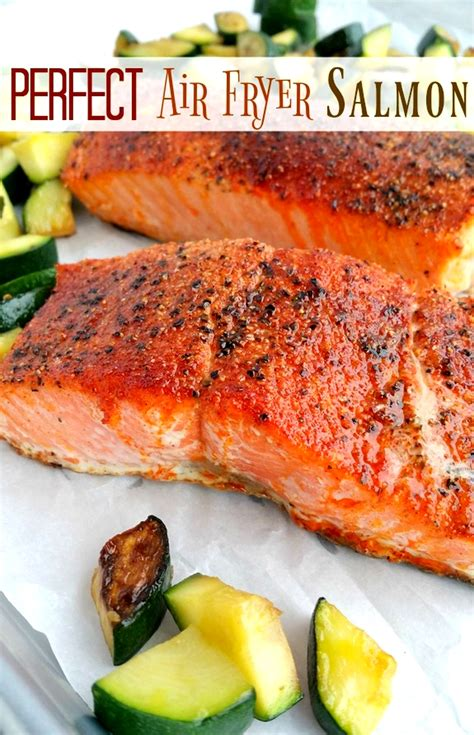 fryer air salmon perfect food airfryer cooked way noblepig brown does most