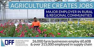 A strong and thriving agricultural sector delivers ...