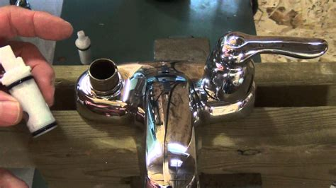 moen kitchen faucets repair how to repair a set of leaky 2 handle moen washerless