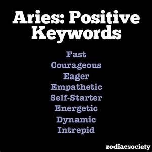 Aries Qualities | www.imgkid.com - The Image Kid Has It!