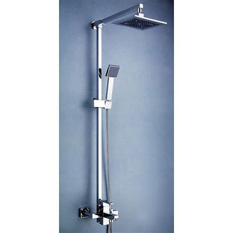 shower heads and faucets contemporary 8 quot shower and shower tub shower