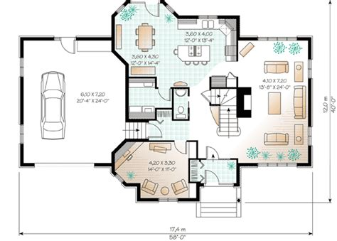 european house plan boasts cozy floor plan dr