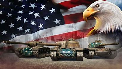 Flag Tanks Tank Military Usa Eagles Flags
