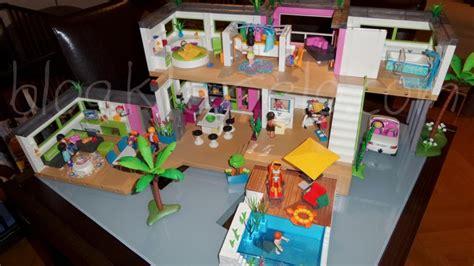 chambre des parents playmobil 5574 maison moderne de playmobil