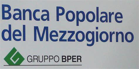 banche popolare banche popolare mezzogiorno ok a fusione con bper